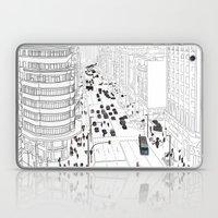 Gran Vía, Madrid Laptop & iPad Skin