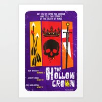 The Hollow Crown (Color … Art Print