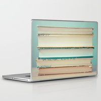 books Laptop & iPad Skins featuring Books by The Last Sparrow