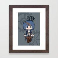 Steampunk Sailor Mercury Framed Art Print