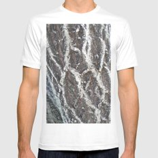 BARK Mens Fitted Tee SMALL White