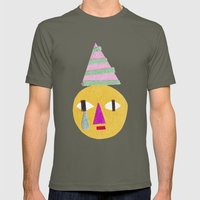 sad face Mens Fitted Tee Lieutenant SMALL
