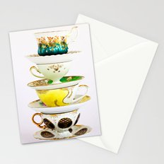 Tip Top TeaCup Stationery Cards