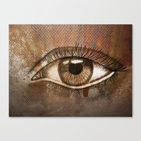 Refracted Canvas Canvas Print