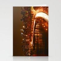 New York City Night Skyl… Stationery Cards