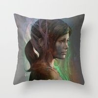 The last hope Throw Pillow