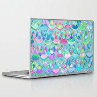 Art Deco Watercolor Patc… Laptop & iPad Skin