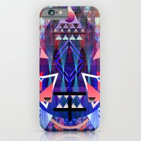 iPhone & iPod Case featuring Metric by QUEQZZ