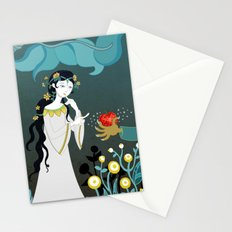 Snowhite and the Evil Witch Stationery Cards