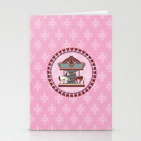 Merry Go 'Round Stationery Cards