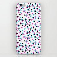 Electric Triangles iPhone & iPod Skin