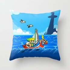 The Legend of Zelda: Wind Waker Advance Throw Pillow