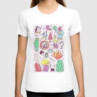 japanese T-shirts featuring Yokai / Japanese Supernatural Monsters by Kimiaki Yaegashi
