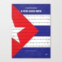 No417 My A Few Good Men minimal movie poster Canvas Print