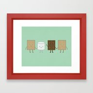 Life Is S'more Fun Toget… Framed Art Print