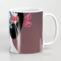 Geisha la blanche Mug
