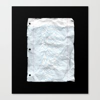 UNKNOWN PAPER Canvas Print