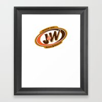 Jeeves And Wooster's Fin… Framed Art Print