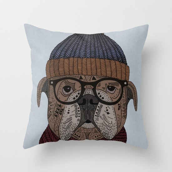 Uwe Throw Pillow