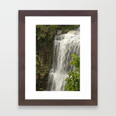 Webster Falls, Hamilton, Ontario Framed Art Print