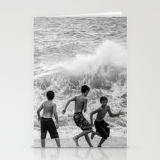 Boys at Sea Stationery Cards