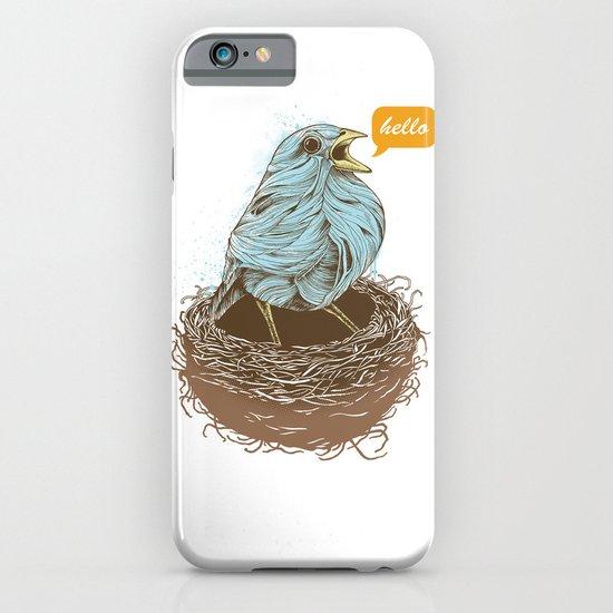 Twisty Bird iPhone & iPod Case