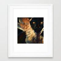 Lurker Framed Art Print