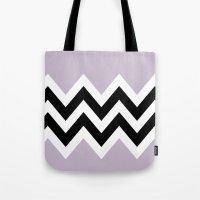 LIGHT PURPLE COLORBLOCK … Tote Bag