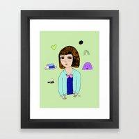 The Realness Framed Art Print