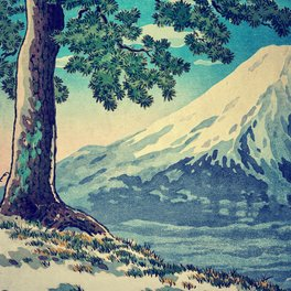 Art Print - After the Snows in Sekihara - Kijiermono