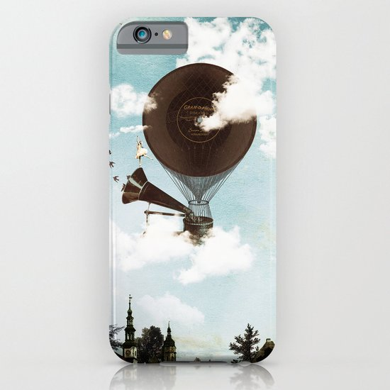 Swan Lake Up in the Air iPhone & iPod Case