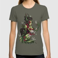 TRAP Womens Fitted Tee Lieutenant SMALL