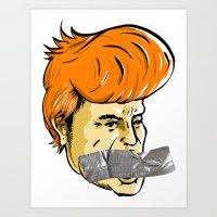 Donald Duct Art Print
