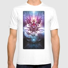 Archangel White Mens Fitted Tee SMALL