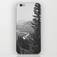 River through the Mountains iPhone & iPod Skin