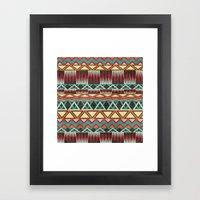 Native. Framed Art Print