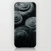 iPhone & iPod Case featuring Little snails by Mi Nu Ra