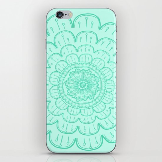 minty fre$h iPhone & iPod Skin