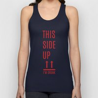 This side up Unisex Tank Top