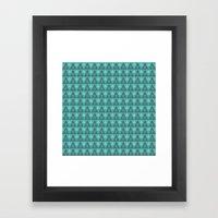 Pillow Pattern #5006500 Framed Art Print