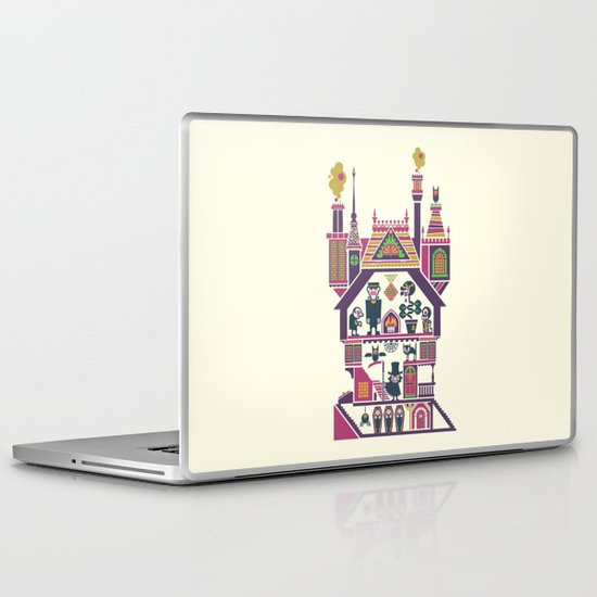 House Of Freaks Laptop & iPad Skin
