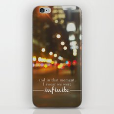 perks of being a wallflower - we were infinite iPhone & iPod Skin