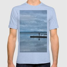 Bridge To Heaven Mens Fitted Tee Athletic Blue SMALL