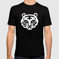 The Tiger Mens Fitted Tee Black SMALL