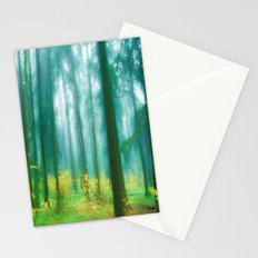 Fairy tale (Green) Stationery Cards