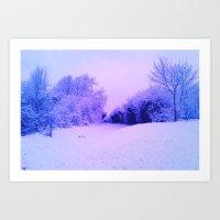 SnowBright Art Print