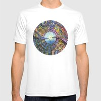 Water Consciousness Mens Fitted Tee White SMALL