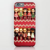 Collection dolls iPhone 6 Slim Case