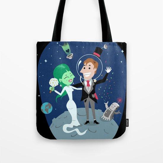 Honey Moon Tote Bag