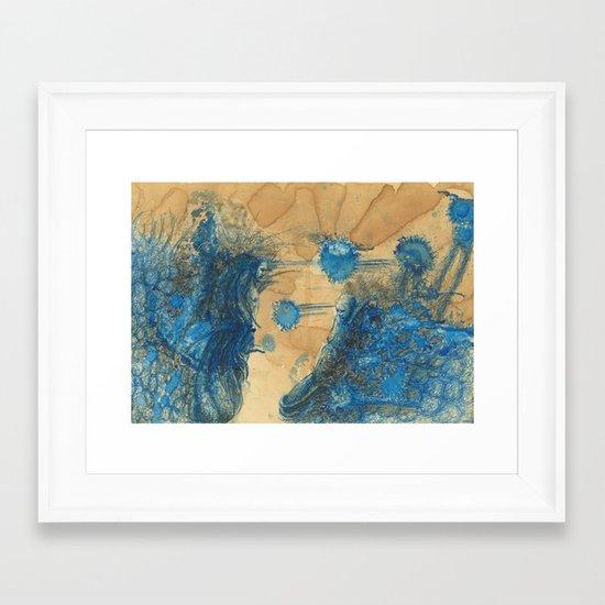 Vitae Sanctorum IX Framed Art Print